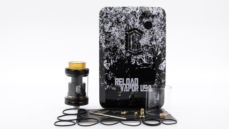 packaging complet du reload rta