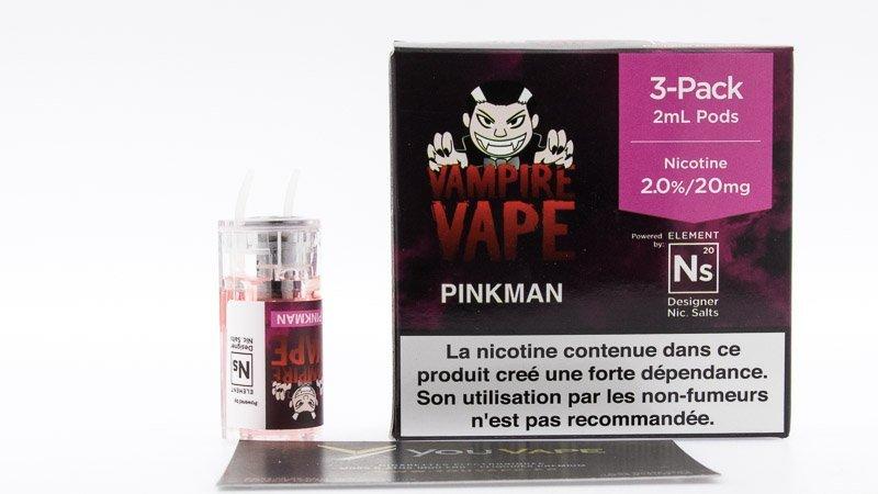 cartouche pinkman sel de nicotine