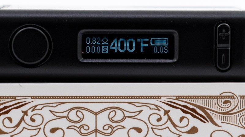 écran affichant température