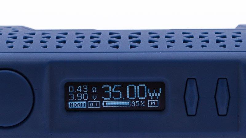 L'écran de la box Wye 2 86w