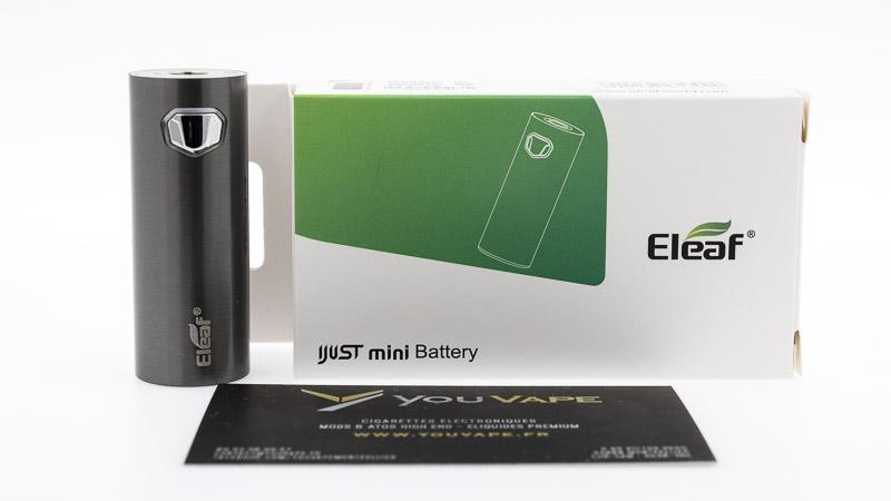packaging complet de la Ijust Mini