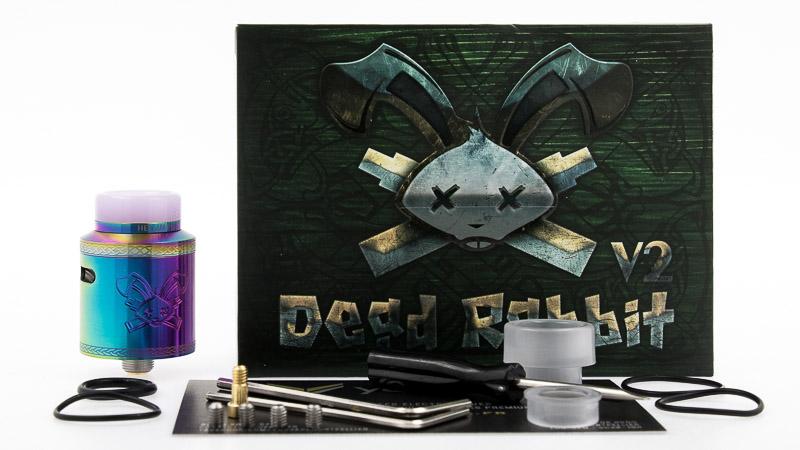 packaging complet du Dead Rabbit V2 rda