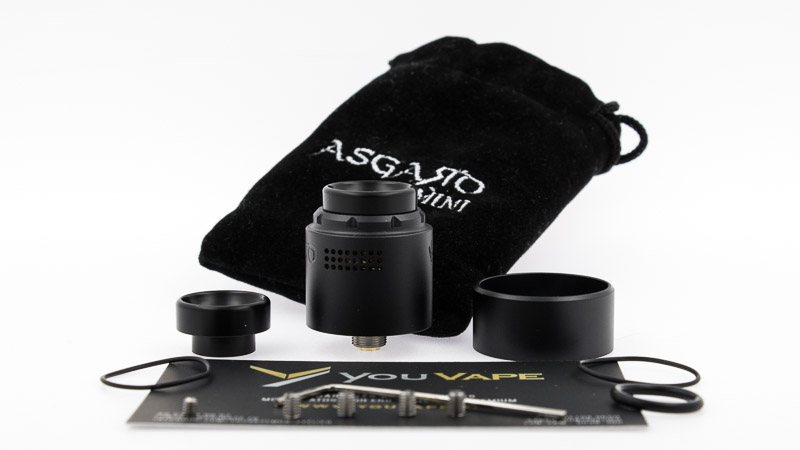 packaging complet asgard mini rda