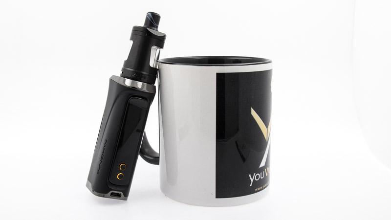 kit kroma-r sur une tasse youvape