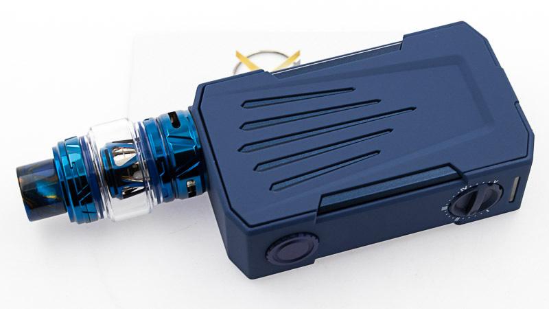 Le clearomiseur de Horizon Tech associé à la box Invader 4 X de Teslacig