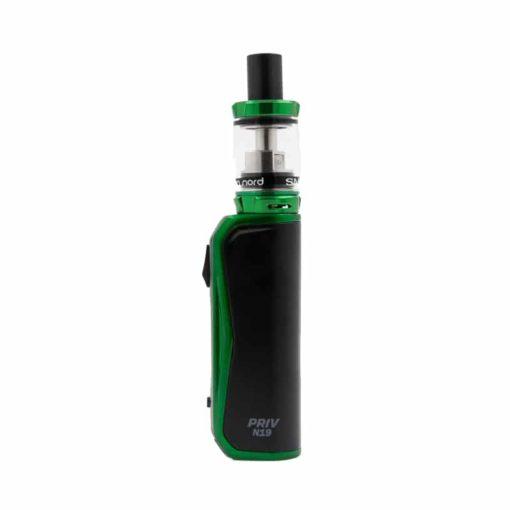 Kit Priv N19 Black Green par Smok