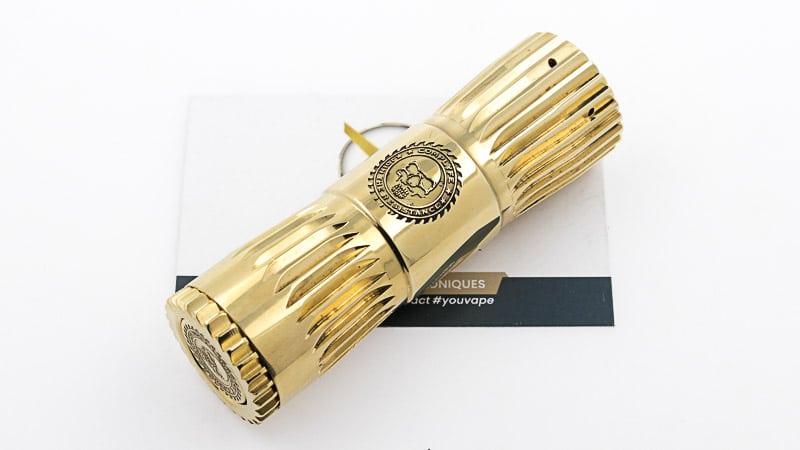 Hacksaw Mod 21700 Brass de Comp Lyfe