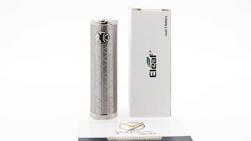 packaging complet batterie ijust 3