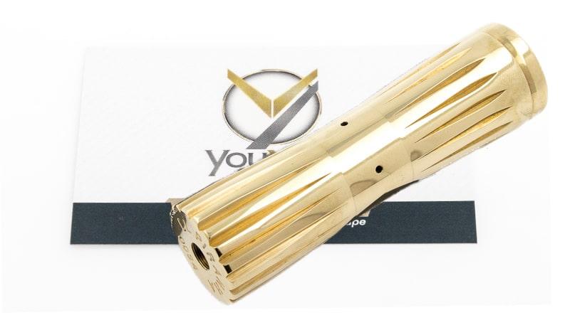 Piranha Mod 18650 Brass de Comp Lyfe