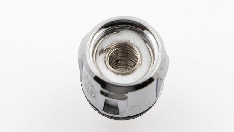 Résistance double coil de 0,40 ohm, conçue pour un usage entre 50 et 60 watts pour un bon équilibre entre vapeur et saveur.