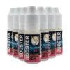 Pack de 10 boosters YouBoost, fabriqué en France pour ajouter de la nicotine à vos eliquides grands formats ou DIY. Ratio de 30PG/70VG, pour une vapeur dense et un hit présent.