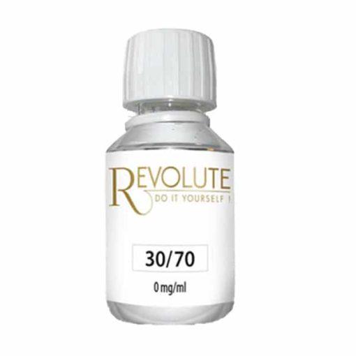 Base 0mg 30/70 115ml par Revolute