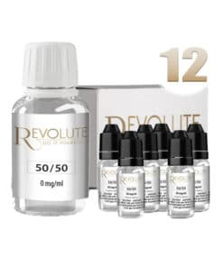 Base 12mg 50/50 100ml par revolute