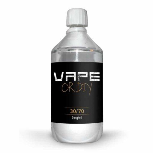 Base 0mg 30/70 1 litre par Revolute