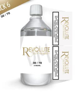 Base 6mg 30/70 1 litre par Revolute