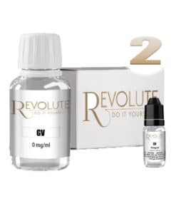 Base 2mg 100% VG 100ml par revolute