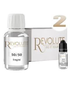 Base 2mg 50/50 100ml par revolute