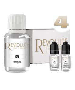 Base 4mg 100% VG 100ml par revolute