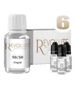 Base 6mg 50/50 100ml par revolute