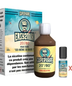 Easy2mix Base 3mg 20/80 200ml par supervape