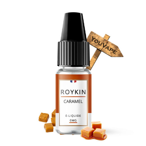 Eliquide Caramel par Roykin