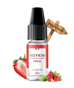 Eliquide fraise par Roykin