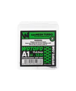 Pack 10 coils Nexmesh Turbo A1 par Wotofo