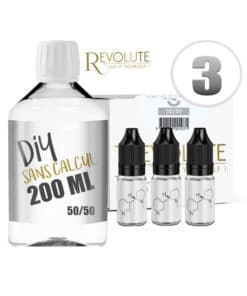 Base 3mg 50/50 200ml par revolute