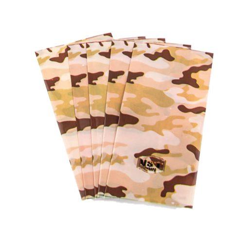 Pack de 5 wraps 20700 - 21700 desert camo