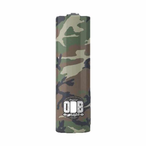 Pack 4 wraps accus 20700 ODB camo