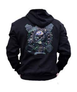 Sawblade Hoodie black par Comp Lyfe