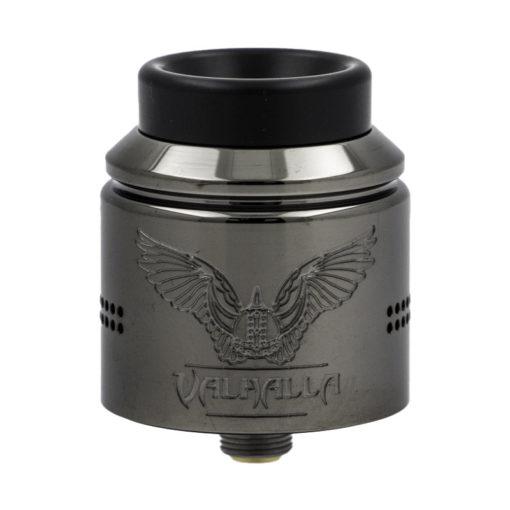 Le Valhalla Nightmare RDA est un terrible dripper double coil de 28mm, conçu par Vaperz Cloud et Suicide Mods pour ressusciter les guerriers vikings de la vape.
