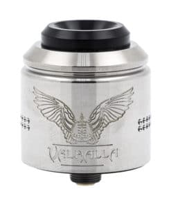 Valhalla Nightmare Rda Stainless Steel par Vaperz Cloud et Suici