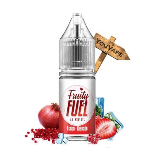 Eliquide The Red Oil 10ml par Fruity Fuel