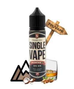 Eliquide Numéro 2 50ml par Single Vape - Cloud Vapor - YouVape
