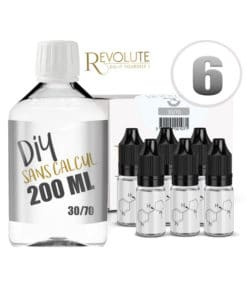 Base 6mg 30/70 200ml par Revolute
