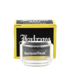 Réservoir en pyrex Bulb de rechange pour le clearomiseur subohm Falcon King de Horizon Tech. Il est livré avec un jeu de joints de rechange et peut contenir 6ml de eliquides.