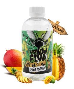 Eliquide Pina Manga Yellow Fiva 200ml par Joe's Juice