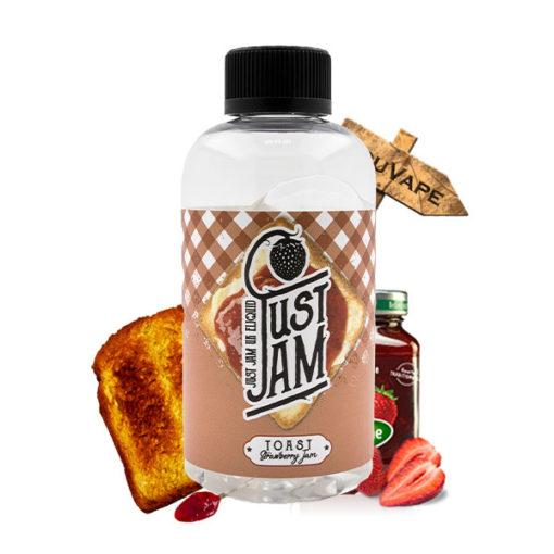 Eliquide Toast Strawberry Jam 200ml par Just Jam