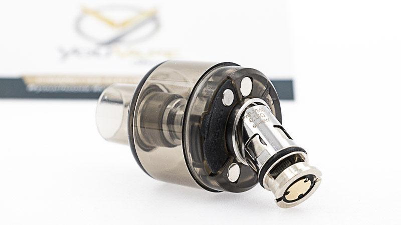 Voopoolivre deux résistances avec le kit : PnP-VM6: résistance en mesh de0.15ohm, destinée à l'inhalationdirecte,entre60et 80 watts. PnP-VM1:résistance enmeshde0.30 ohm, destinée à l'inhalationdirecte, entre32 et 40 watts. Il existe bien sûr d'autres modèles, qui offrent des sensations différentes. Le choix est d'autant plus grand que lesrésistances GTXde Vaporesso, sont aussicompatiblesavec celles deVoopoo, donc avec ses kits.
