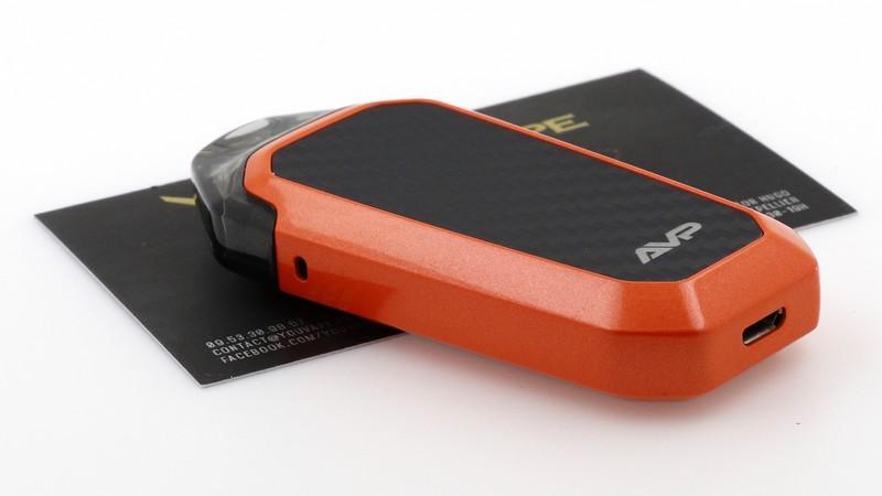 Exemple d'un kit Pod avec batterie intégrée : le AVP de Aspire