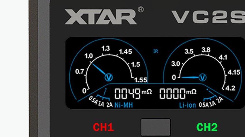 Ecran du chargeur VC2S