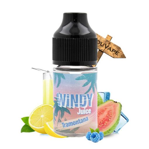 Concentre Tramontana 30ml par Windy Juice