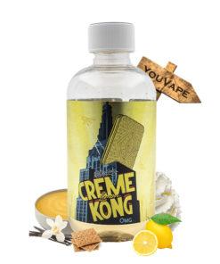 Eliquide Creme Kong Lemon 200ml par Joe's Juice