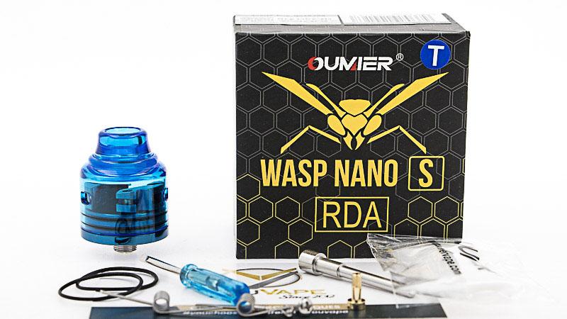 Contenu du coffret du Wasp Nano S