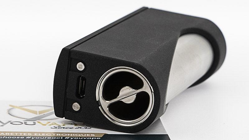 Compartiment de l'accu et port micro Usb