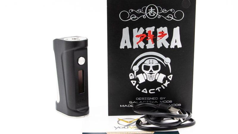 Contenu du coffret de la Box Akira