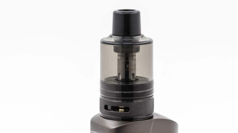 Airflow aérien et drip tip 510 interchangeable