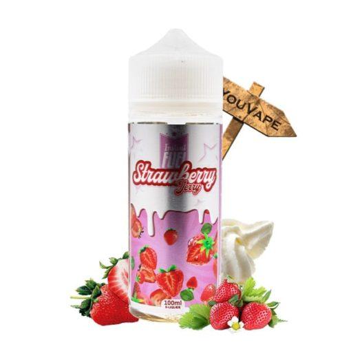 Eliquide Strawberry Jerry 100ml par Instant Fuel