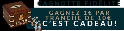 Étiquette Cagnotte
